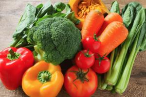 野菜たくさんの写真